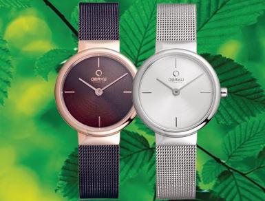 Obaku - Horloges - Juwelier Kicken - Simpelveld