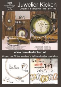 Folder Najaar 2019 - Juwelier Kicken - Simpelveld